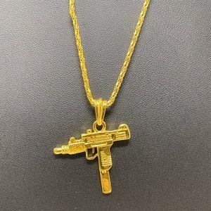 Uzi Pendant Necklace